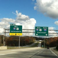 Photo taken at I-74 Exit 5 & I-275 Exit 25 by Mike C. on 11/3/2013