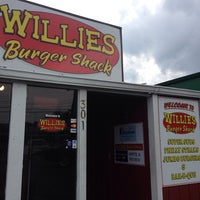 Photo taken at Willie's Burger Shack by Brian F. on 4/28/2014