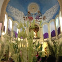 Photo taken at National Shrine of Our Lady of Lourdes by Karen R. on 3/24/2013