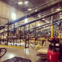 Photo taken at Jo Ann's Fabric Distribution Center by Loren T. on 11/5/2013