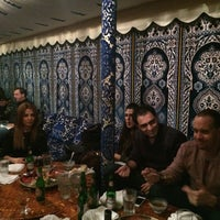 Photo taken at Marrakech Moroccan Restaurant by Shehab P. on 12/14/2014