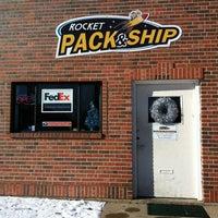 Photo taken at Rocket pack & ship by Evan C. on 12/20/2012