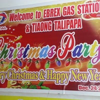 Photo taken at Total Gas Station Tiaong by Jam J. on 12/24/2012