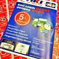 Photo taken at TIKI PTC - Comm Care Surabaya by Sewi W. on 8/18/2013