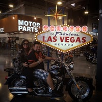Photo taken at Las Vegas Harley-Davidson by MR. DAVIDSON B. on 2/4/2015