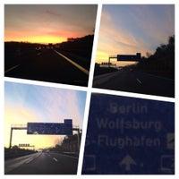 Photo taken at Rasthof Route 66 Uhrsleben by Canan on 10/18/2014