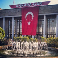 Photo taken at Ankara Station by Levent T. on 9/24/2012