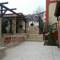 Photo taken at Αρχοντικό Ωρολογόπουλου by Xristos P. on 3/22/2014