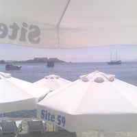 Photo taken at 59 Beach by Oguz C. on 8/28/2013