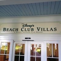 Photo taken at Disney's Beach Club Villas by Martin P. on 5/19/2013