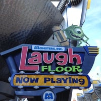 Photo taken at Monsters, Inc. Laugh Floor by Martin P. on 2/3/2013