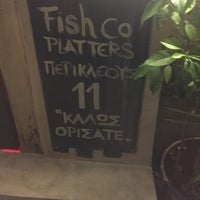 Photo taken at Fish Co. Platters by Στάθης Κ. Σ. on 11/2/2017
