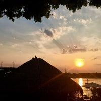 Photo taken at Mainz Strand by Erica S. on 6/21/2017