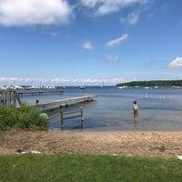Photo taken at Fish Creek Beach by Mark C. on 6/17/2017