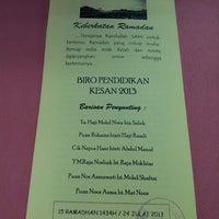 Photo taken at Jabatan Akauntan Negara Malaysia Negeri Perak by Hazirah Y. on 7/24/2013