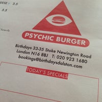 Снимок сделан в Psychic Burger пользователем Mark D. 6/5/2013