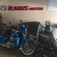 Photo taken at İkarus Motor by Adem T. on 8/8/2017