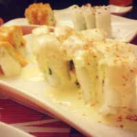 Photo taken at moshi moshi sushi by cristina z. on 6/10/2014