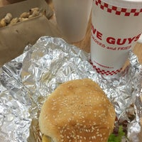 Photo taken at Five Guys by Sar S. on 10/11/2015