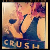 Photo taken at Crush Wine Bar by Nissa on 10/3/2012