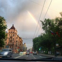 Photo taken at Каменоостровская by Устина С. on 5/25/2014