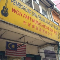 Photo taken at Woh Fatt Music House by Nazry H. on 3/22/2013