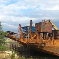 Photo taken at Balantang Port by Dardi H. on 9/7/2013
