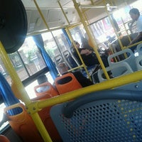 Photo taken at Bus Climatizado by Caro H. on 9/10/2013