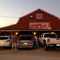 Photo taken at Parker Brother's Traildust Steakhouse by Adriana C. on 9/9/2013