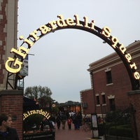 Photo taken at Ghirardelli Square by Rozanne M. on 7/28/2013