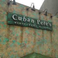 Photo taken at Cuban Pete's by Elrick E. on 3/24/2013