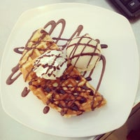 Photo taken at Tokyo Crepes by Bellany I. on 7/9/2014