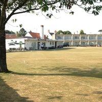 Photo taken at Thornbury Cricket Club by Gary P. on 7/17/2013