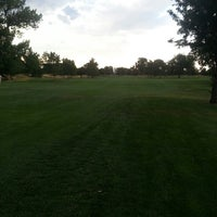 Photo taken at Overland Park Golf Course by Christopher G. on 7/4/2013