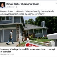 Photo taken at Denver Realtor Chris Gibson by Christopher G. on 8/28/2016