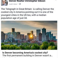 Photo taken at Denver Realtor Chris Gibson by Christopher G. on 9/16/2016