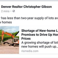 Photo taken at Denver Realtor Chris Gibson by Christopher G. on 9/14/2016
