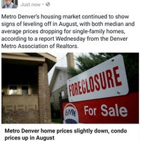 Photo taken at Denver Realtor Chris Gibson by Christopher G. on 9/8/2016