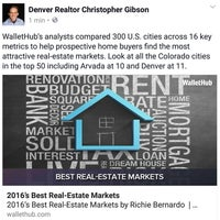 Photo taken at Denver Realtor Chris Gibson by Christopher G. on 8/30/2016