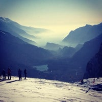 Photo taken at Consorzio Skipass  Paganella by Paola M. on 1/26/2014