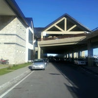 Photo taken at Aeropuerto Internacional de Bariloche - Teniente Luis Candelaria (BRC) by Cristian B. on 10/27/2012