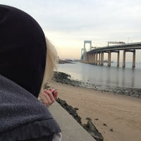 Photo taken at Throgs Neck Bridge Lookout Parking Lot by Mary D. on 11/15/2013