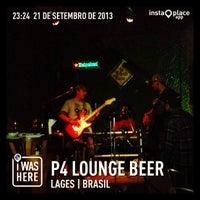 Foto tirada no(a) P4 Lounge Beer por ☀️🍻🏊 Fernando Z. em 9/22/2013