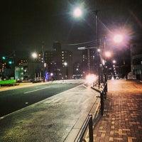 Photo taken at 代々木八幡跨線橋 by Shigeki M. on 2/7/2014