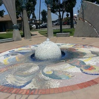 Photo taken at Pearl of the Pacific Fountain by Denise S. on 7/18/2013