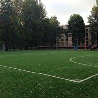 Photo taken at Гимназия № 654 им. А. Д. Фридмана by Илья Л. on 9/2/2013