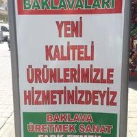 Photo taken at Altınoğlu Baklavaları by *Ci♓️🅰N S. on 8/23/2014
