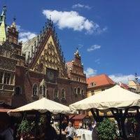 Photo taken at Wrocław by Ксения Д. on 6/4/2015