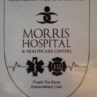 Photo taken at Morris Hospital EMS Academy by Michael D. on 10/7/2013