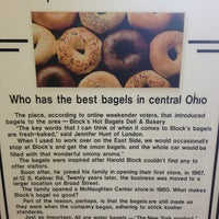 Photo taken at Block's Bagels by Sidney W. on 3/31/2013